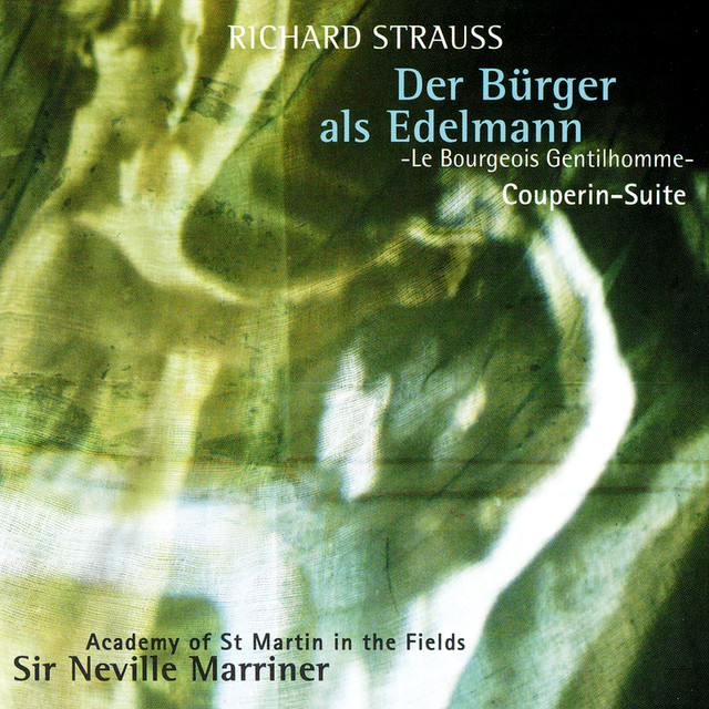 Richard Strauss: Le Bourgeois Gentilhomme Suite; Couperin Suite Albumcover