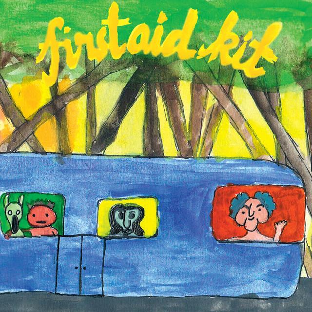 Skivomslag för First Aid Kit: Drunken Trees