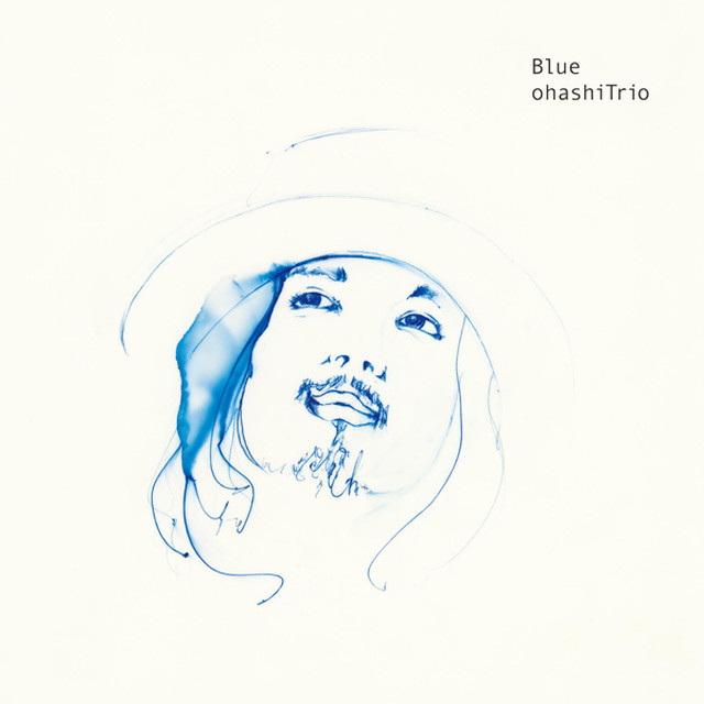 Album cover for Blue by Ohashi Trio