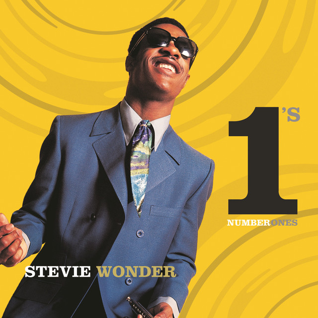 Stevie Wonder Number 1's album cover