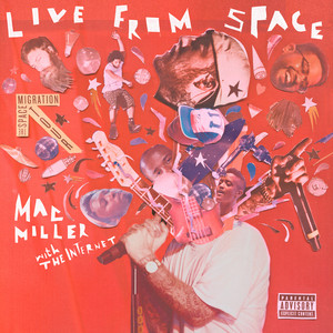 Live From Space Albumcover