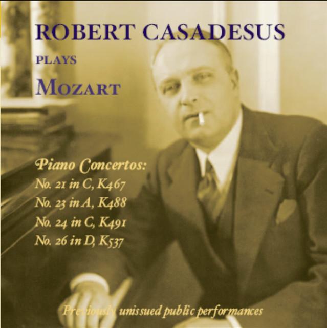 Robert Casadesus plays Mozart (1958-1969)