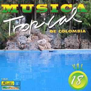 Música Tropical de Colombia, Vol. 18 Albumcover