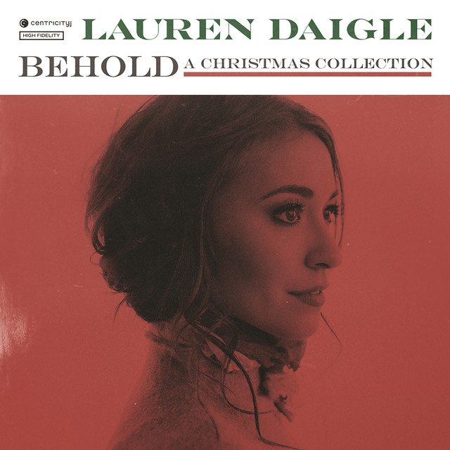 Album cover for Behold by Lauren Daigle