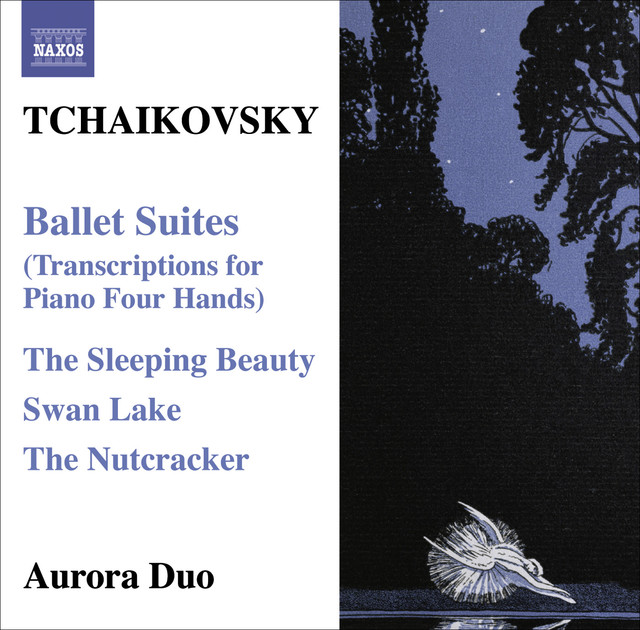 Tchaikovsky: Ballet Suites (Transcriptions for Piano 4 Hands) Albumcover