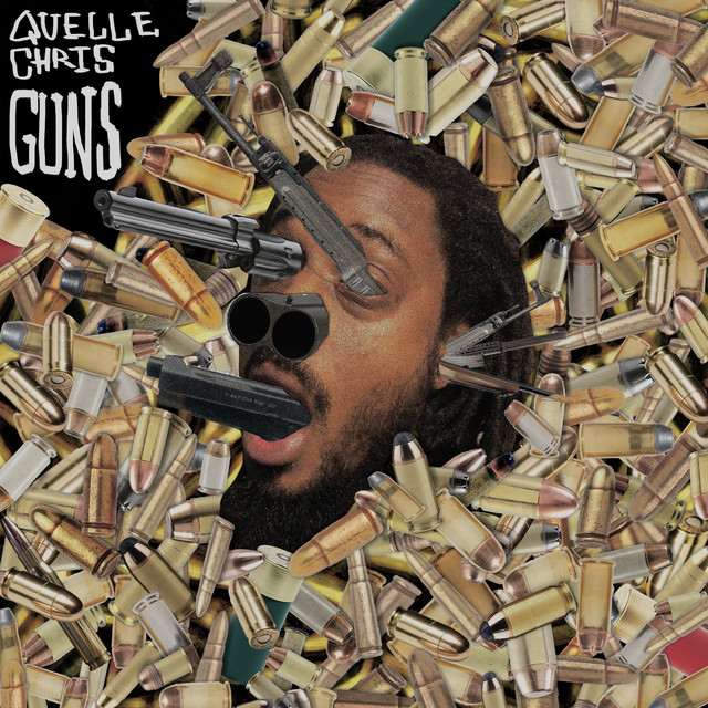 Album cover for Guns by Quelle Chris