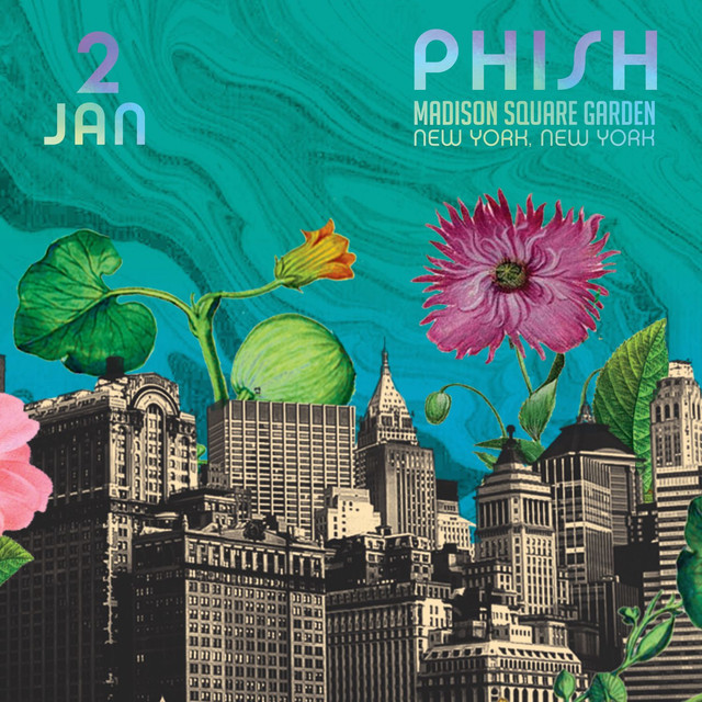 Album cover for Phish: 1/2/2016 Madison Square Garden, New York, NY by Phish