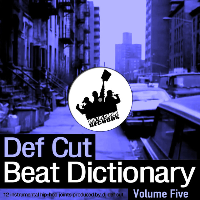 Album cover for Beat Dictionary Volume 5 by Def Cut