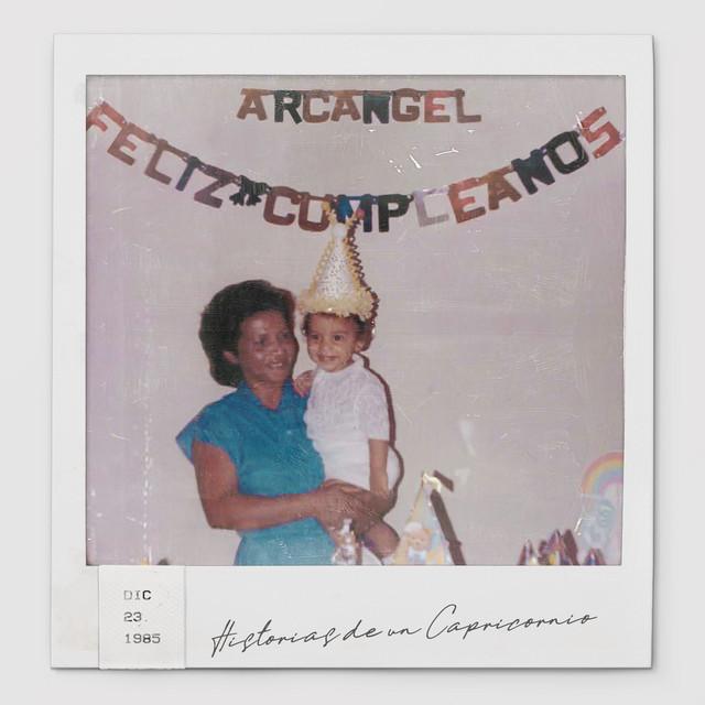 Album cover for Historias de un Capricornio by Arcangel