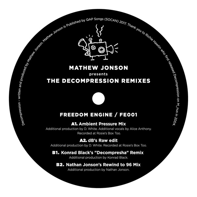 Mathew Jonson Presents The Decompression Remixes