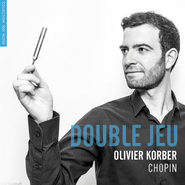 Album cover for Double jeu (Chopin, Etudes, Op. 25) by Frédéric Chopin, Olivier Korber