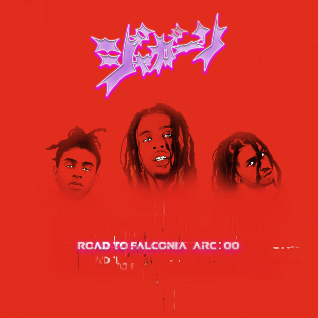 Album cover for Road to Falconia by Robb Bank$