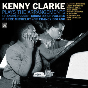 Kenny Clarke, Roger Guérin, Bernard Hulin, Billy Byers, Nat Peck, Hubert Rostaing, Hubert Fol, Lucky Thompson, Armand Migiani, René Urtreger, Martial Solal, Maurice Vandair, Pierre Michelot, Jean Warland 'Round Midnight cover