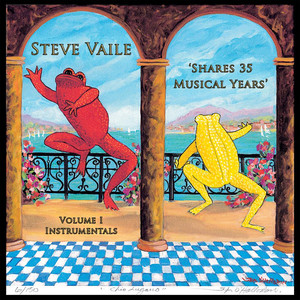 Steve Vaile 'Shares 35 Musical Years' Volume I- Instrumentals Albumcover