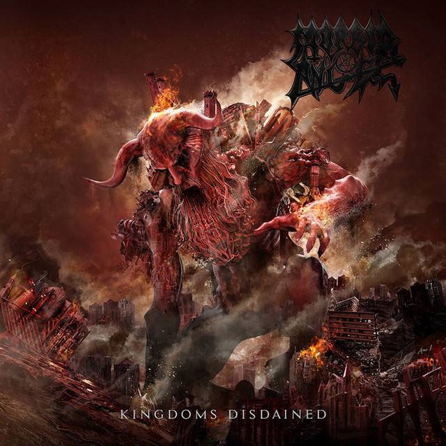 Skivomslag för Morbid Angel: Kingdoms Disdained