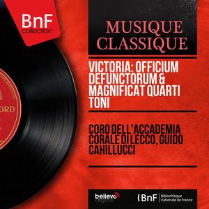 Victoria: Officium defunctorum & Magnificat quarti toni (Mono Version) Albumcover
