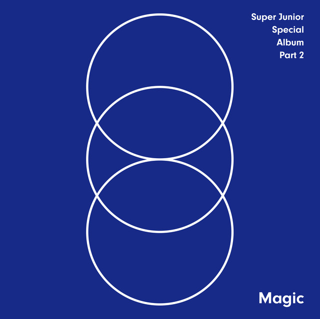 MAGIC - SUPER JUNIOR SPECIAL ALBUM PART.2 Albumcover