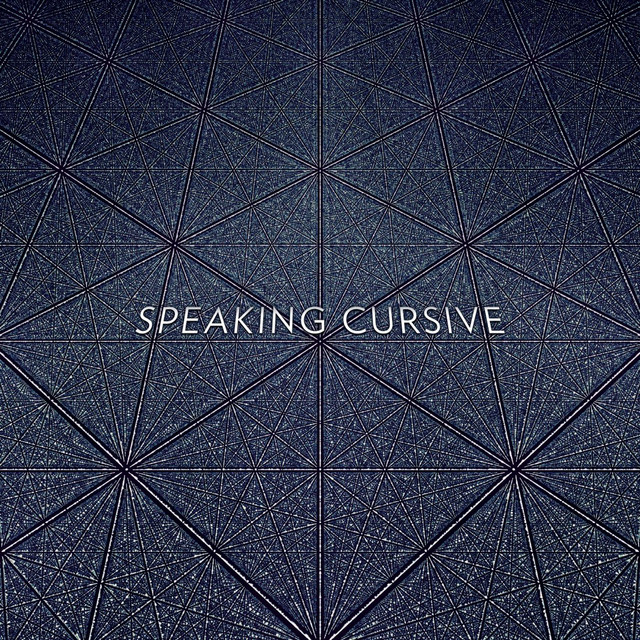 Speaking Cursive