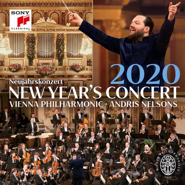 Album cover for Neujahrskonzert 2020 / New Year's Concert 2020 / Concert du Nouvel An 2020 by Andris Nelsons, Wiener Philharmoniker