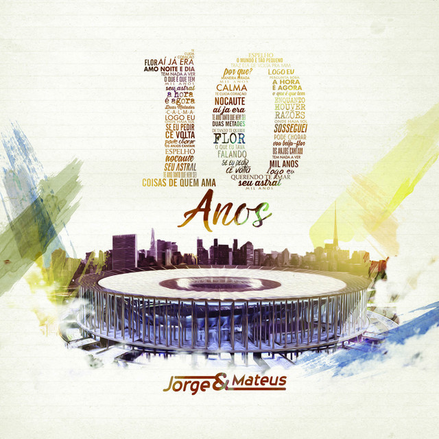 Album cover for 10 Anos (Ao Vivo) - Deluxe by Jorge & Mateus