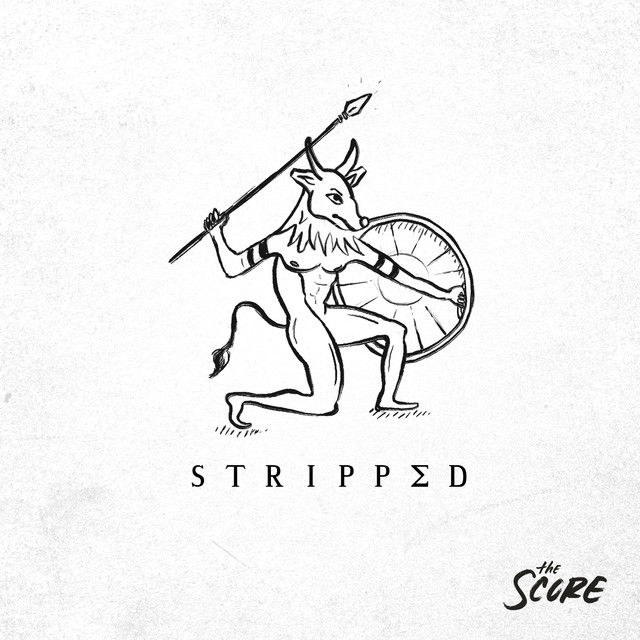 Album cover for Stripped by The Score