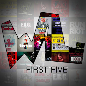 We Are Live: First Five Albumcover