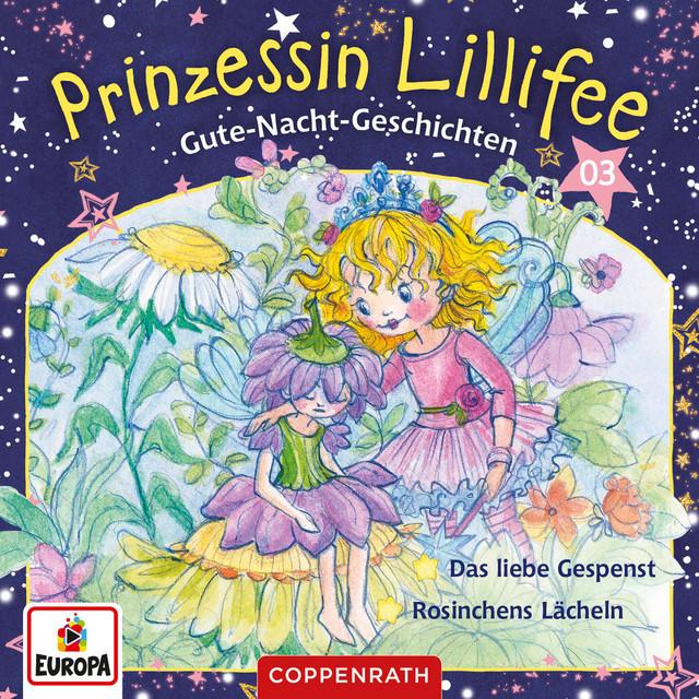 003 - Gute-Nacht-Geschichten Folge 5+6 - Das liebe Gespenst - Rosinchens Lächeln Cover