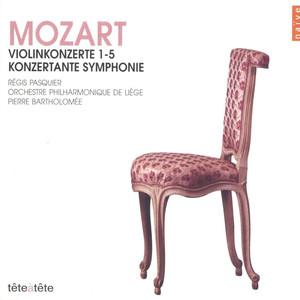 Mozart: Violinkonzerte 1-5 (Konzertante Symphonie) Albumcover