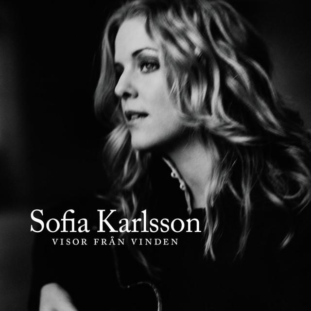 Skivomslag för Sofia Karlsson: Visor Från Vinden
