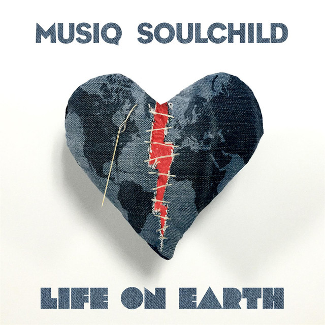 Album cover for Life On Earth by Musiq Soulchild