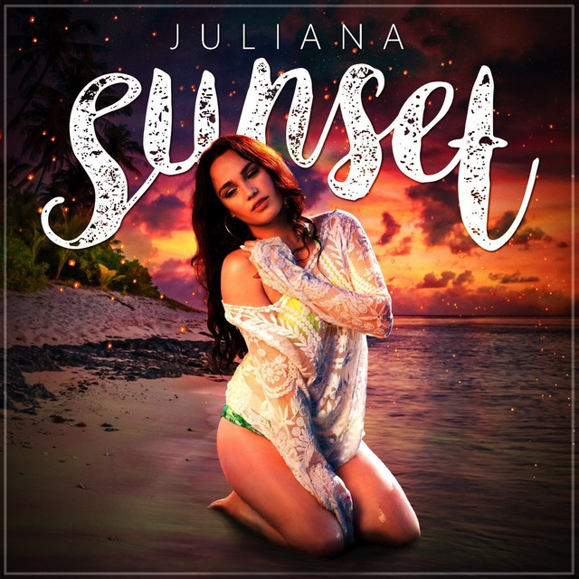 Album cover for Sunset by Juliana