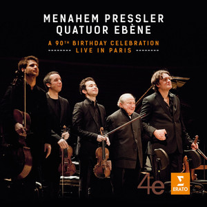 Menahem Pressler - A 90th Birthday Celebration - Live in Paris Albümü