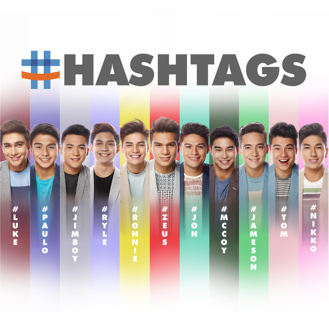 Album cover for Hashtags by Hashtags, Pacific Noise