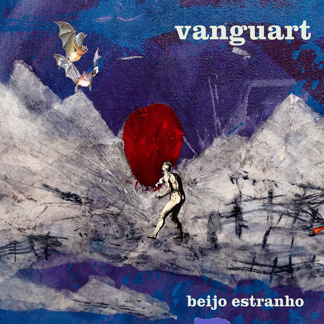 Album cover for Beijo Estranho by Vanguart