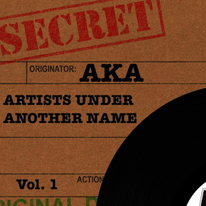 Secret AKA: Artists under Another Name, Vol. 1 Albumcover