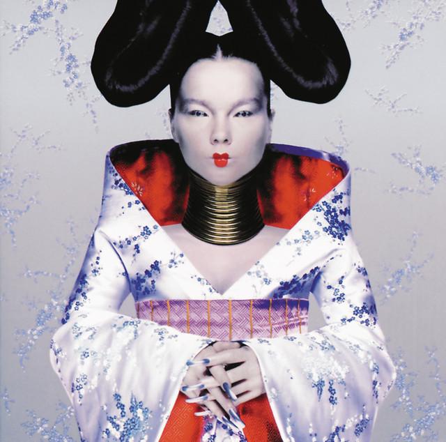Skivomslag för Björk: Homogenic
