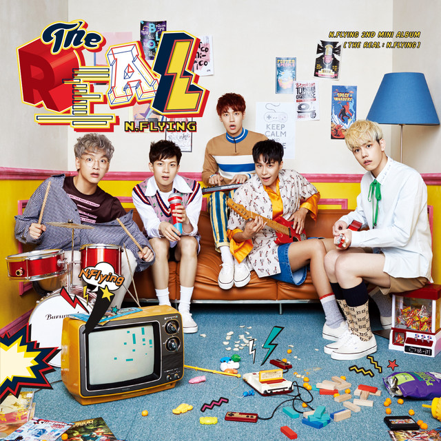 N.Flying 2nd Mini Album [THE REAL : N.Flying]
