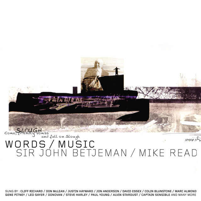 Various Artists Words & Music - Sir John Betjeman & Mike Read album cover