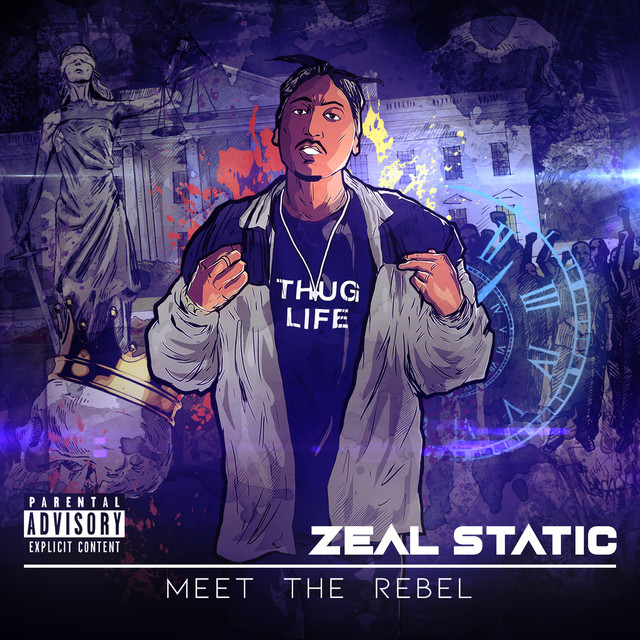 Cover art: Melbourne MC Zeal Static releases his highly anticipated 'Meet The Rebel' EP by