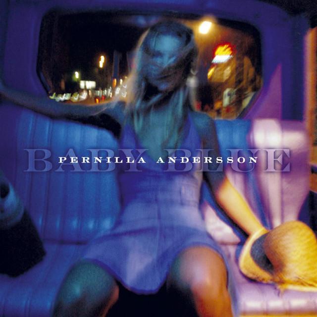 Skivomslag för Pernilla Andersson: Baby Blue