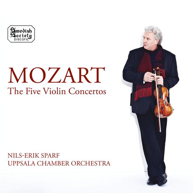 Mozart: The 5 Violin Concertos Albumcover
