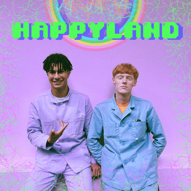 Album cover for Happy Land Tape by Jacin Trill
