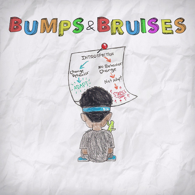 Album cover for Bumps & Bruises by Ugly God