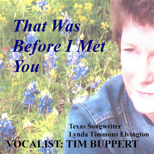 Tim Buppert That Was Before I Met You cover