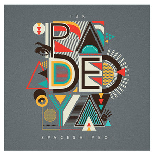 Album cover for padeya by ibk spaceshipboi