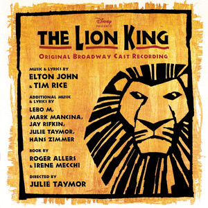 The Lion King: Original Broadway Cast Recording album