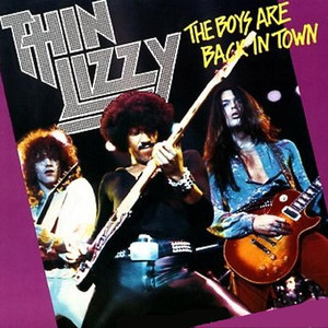 Album cover for The Boys are Back in Town by Thin Lizzy