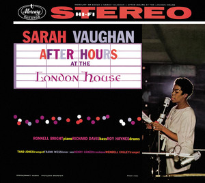 After Hours at the London House album