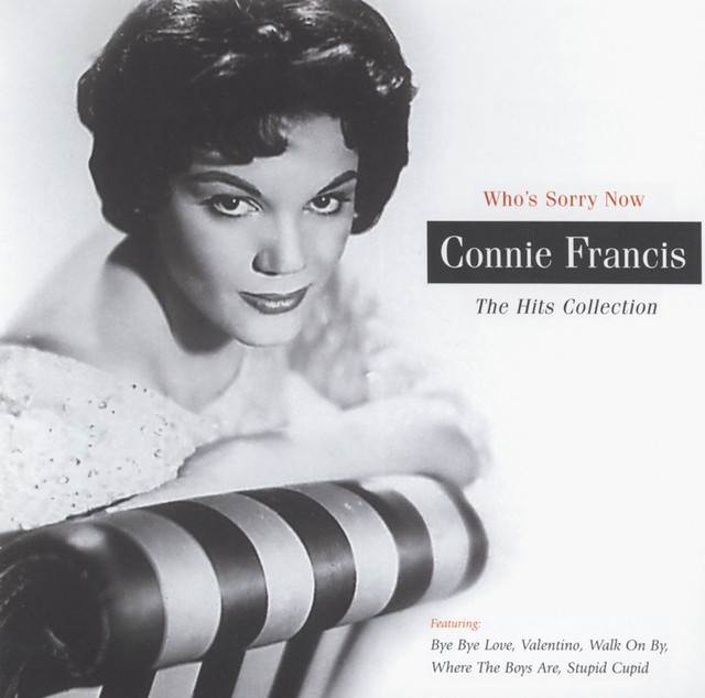 Connie Francis The Hits Collection album cover