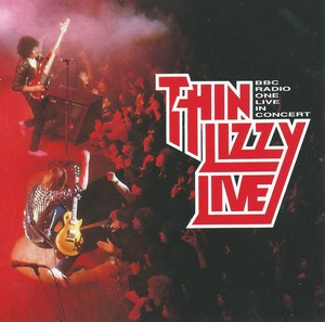 Thin Lizzy Live In Concert Albumcover